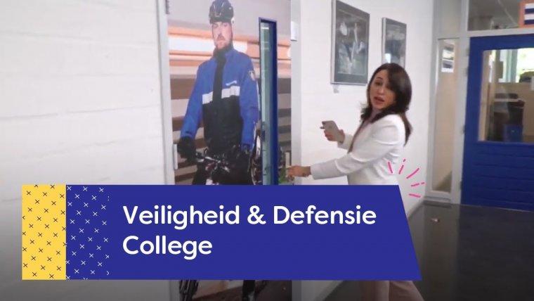 YouTube video - Rondleiding gebouw Veiligheid & Defensie College